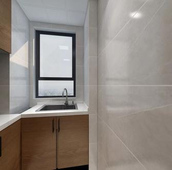 富裕型90平米三室两厅中式风格厨房装修图片大全