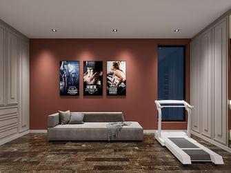 豪华型140平米别墅现代简约风格健身房装修效果图