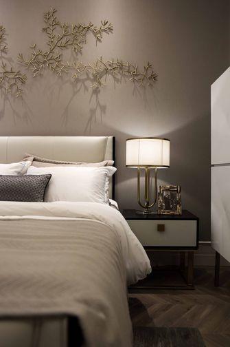 140平米三室两厅轻奢风格卧室装修案例