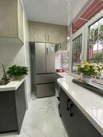 富裕型50平米田园风格厨房装修图片大全