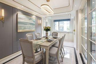 豪华型140平米复式美式风格餐厅图片