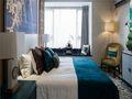 10-15万110平米三室一厅中式风格卧室欣赏图