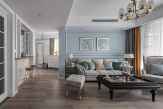 富裕型100平米三欧式风格客厅装修案例