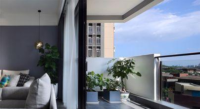 富裕型140平米四北欧风格阳台图