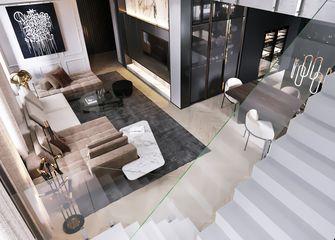 豪华型140平米一室两厅轻奢风格客厅图片大全