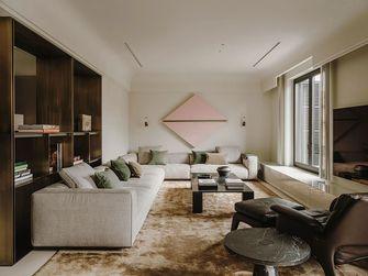 15-20万120平米三室一厅现代简约风格客厅装修图片大全