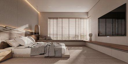 富裕型110平米三室两厅田园风格卧室设计图