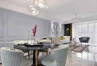 富裕型120平米三室三厅美式风格餐厅图