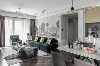 20万以上110平米美式风格客厅装修案例