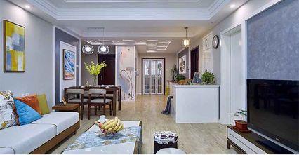 经济型130平米三室三厅现代简约风格客厅装修案例
