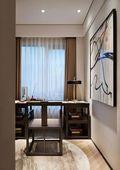 经济型110平米中式风格书房设计图