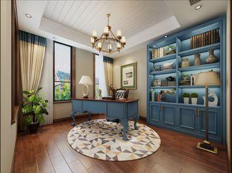 20万以上140平米别墅地中海风格书房图片大全