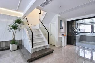 20万以上140平米复式轻奢风格楼梯间设计图