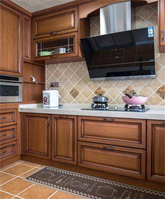 20万以上140平米三室两厅美式风格厨房欣赏图