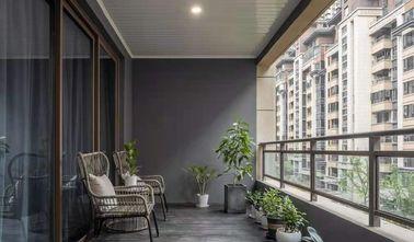 经济型140平米四室两厅中式风格阳台图