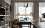 富裕型130平米三室两厅田园风格书房装修案例