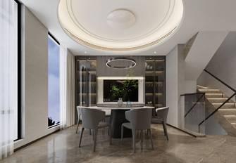20万以上140平米别墅现代简约风格餐厅装修案例