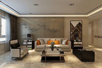 90平米三室两厅港式风格客厅装修效果图