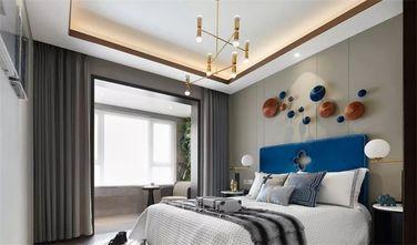 富裕型120平米三室两厅新古典风格卧室图片大全