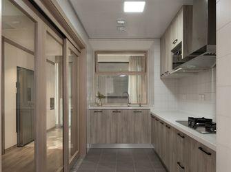 富裕型110平米三室两厅日式风格厨房图片