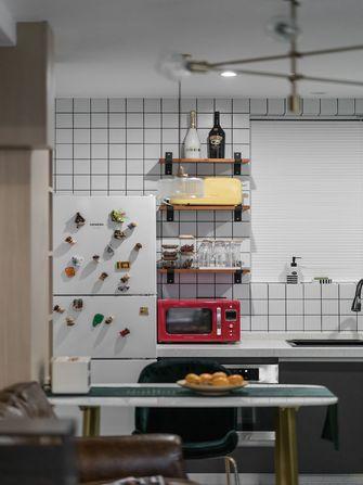 经济型50平米一室一厅混搭风格厨房图片大全
