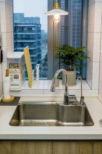 90平米公寓现代简约风格厨房图片