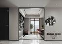 豪华型140平米三室两厅现代简约风格书房装修案例