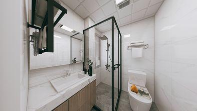经济型60平米一室一厅美式风格卫生间欣赏图