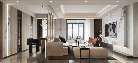 15-20万120平米三室一厅工业风风格客厅效果图