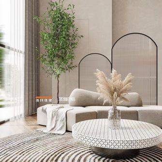 120平米复式混搭风格客厅设计图