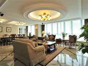 豪华型140平米复式美式风格客厅效果图