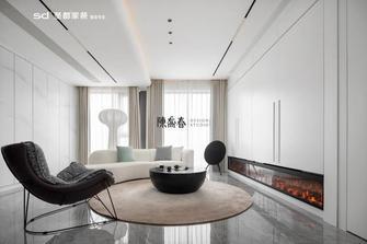 130平米三室两厅轻奢风格客厅图