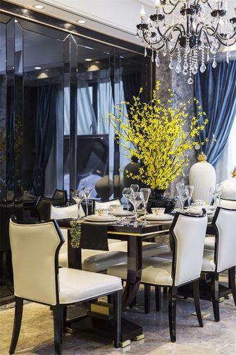 15-20万110平米三室两厅轻奢风格餐厅效果图