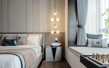 140平米三中式风格卧室设计图