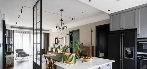 富裕型110平米三室两厅新古典风格餐厅装修图片大全