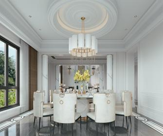 豪华型140平米别墅欧式风格餐厅设计图