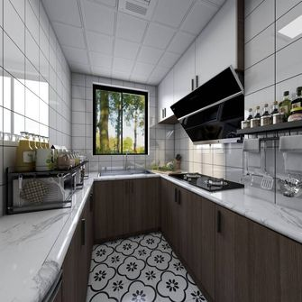 经济型60平米公寓中式风格厨房效果图