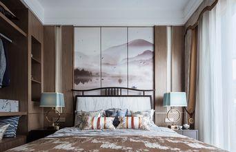 豪华型100平米三室一厅中式风格卧室设计图