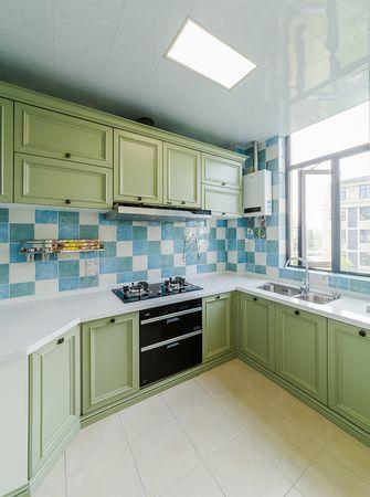 110平米三美式风格厨房装修案例
