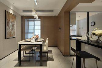 140平米三室两厅港式风格餐厅效果图