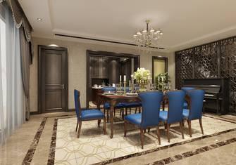 豪华型140平米复式新古典风格餐厅欣赏图