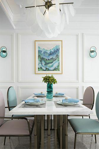 富裕型120平米三室三厅混搭风格餐厅图片