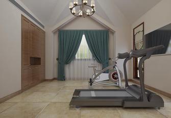 20万以上140平米别墅现代简约风格健身房图片大全
