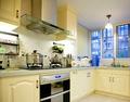 3-5万40平米小户型地中海风格厨房装修效果图
