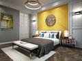 豪华型140平米别墅美式风格卧室图