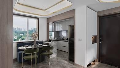 120平米现代简约风格厨房图片