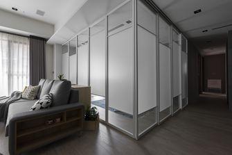 富裕型120平米三室两厅现代简约风格健身房装修图片大全