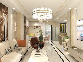 120平米一室一厅欧式风格客厅装修案例