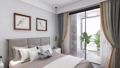 130平米四室一厅美式风格卧室图片