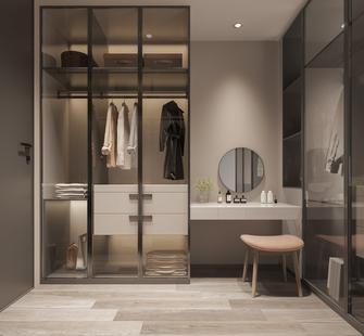 豪华型130平米三室两厅现代简约风格衣帽间装修案例